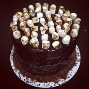 Christina Tosi's Chocolate-Malt Layer Cake